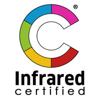 infrared certified logo