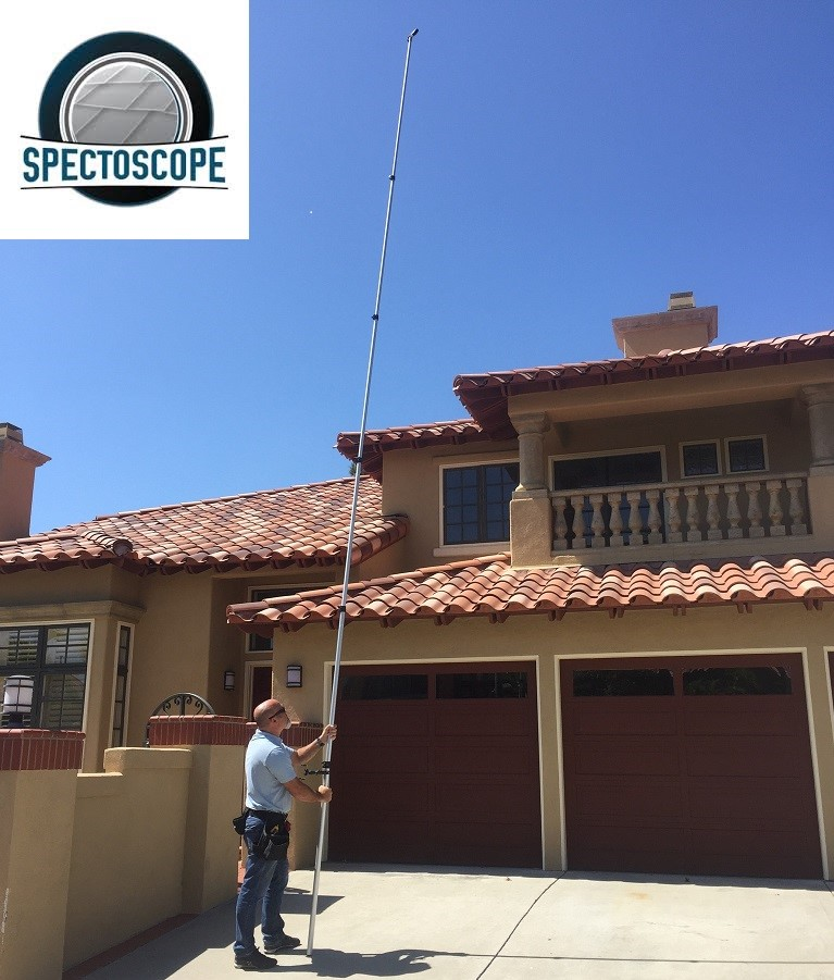 Home inspections for the San Diego area use the latest technology including Spectoscopes.